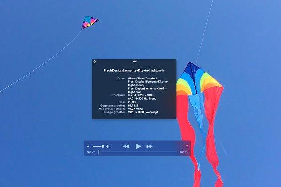 Kite In Flight Movie 1920 X 1080 M4v