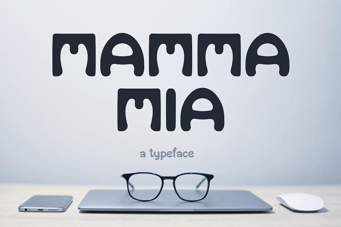 Mamma Mia Display Fonts Creative Market