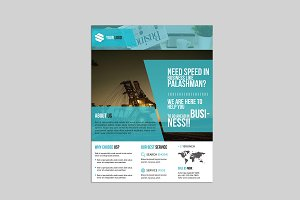 Corporate Flyer Template -V581