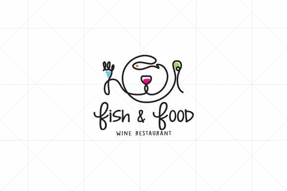 Fish  I  Food  I  Wine  -  Logo