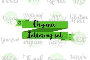 Organic Eco Lettering Set