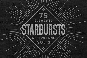 Retro Starbursts - Vol. 2