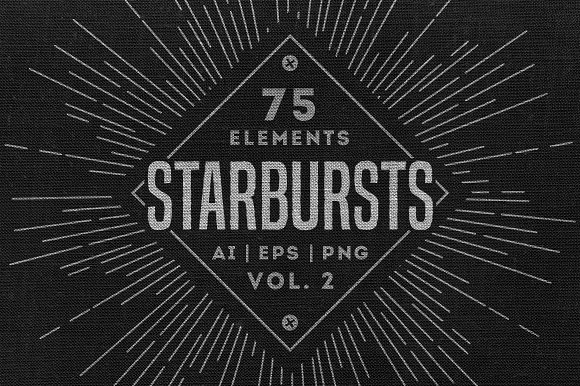 Retro Starbursts Vol 2