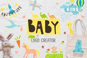 BABY logo creator