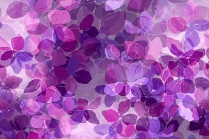 lilac seamless pattern | JPEG