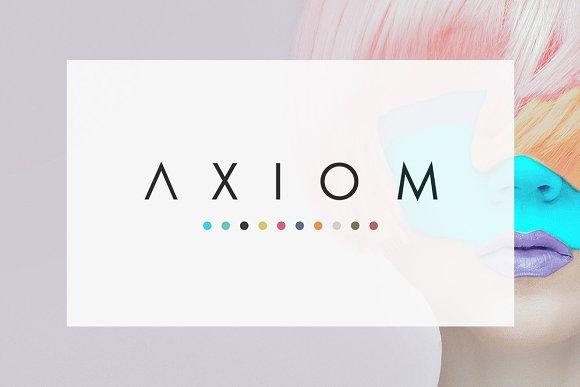 axiom simple presentation presentation templates creative market