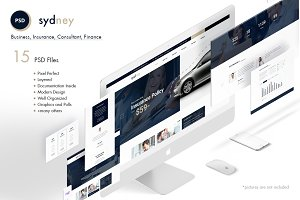 Sydney- Premium Finance/Business PSD