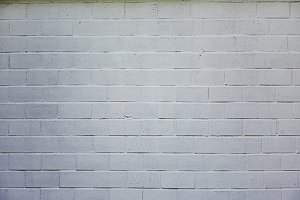 Withe brick wall background