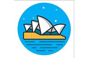 Sydney Icon