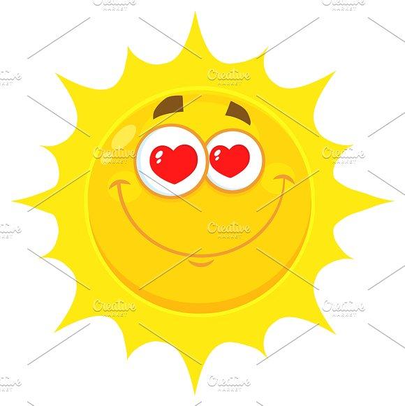Loving Yellow Sun Character