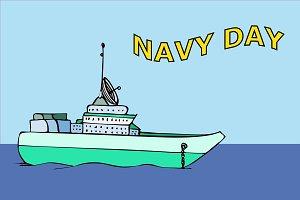 Navy warship image