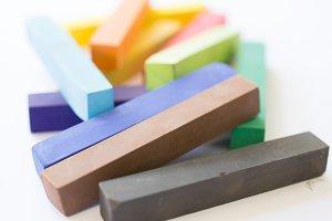 Wax Color Crayons