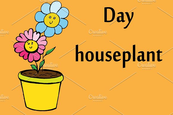 Houseplant Flowers In Pot