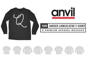 Anvil 949 Unisex Longsleeve T-Shirt