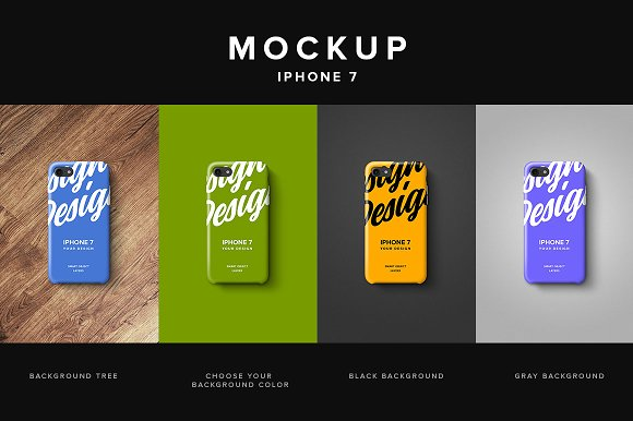 Iphone 7 Clear Case Mockup