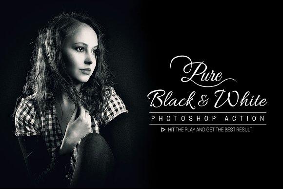 Pure Black And White
