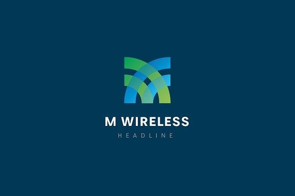 M Wireless Logo