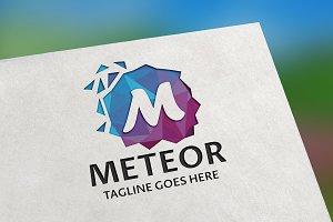 Meteor (Letter M) Logo