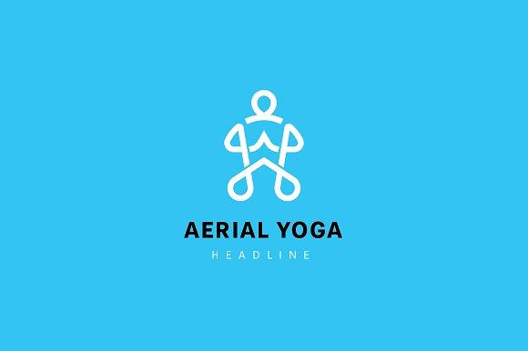 Aerial Yoga Logo