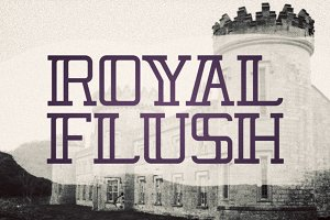 Royal Flush Typeface
