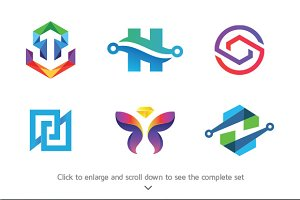 6 Abstract Business Logos