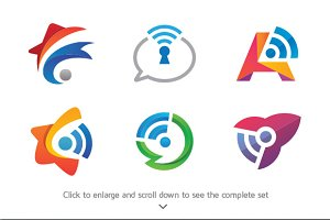 6 Communication Logos
