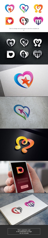 6 Dating Logos