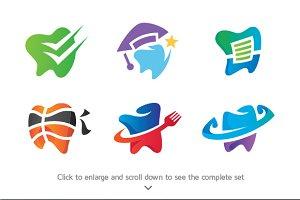 6 Dental Logos