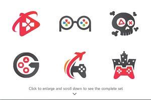 6 Gamer Logos
