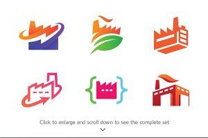 6 Industrial Logos