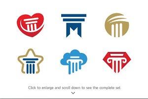6 Lawyer Logos