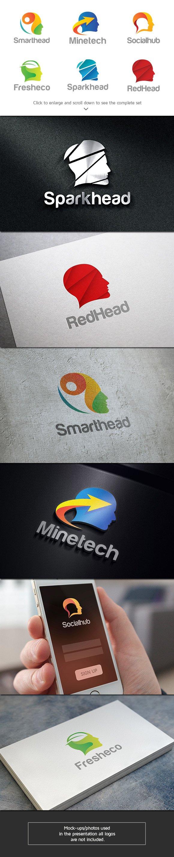6 Head Logos