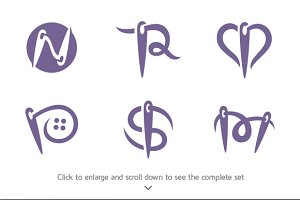 6 Needle Logos