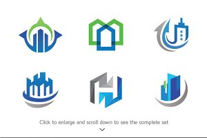 6 Real Estate Logos