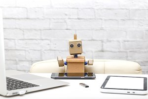 Robot and electronic devices