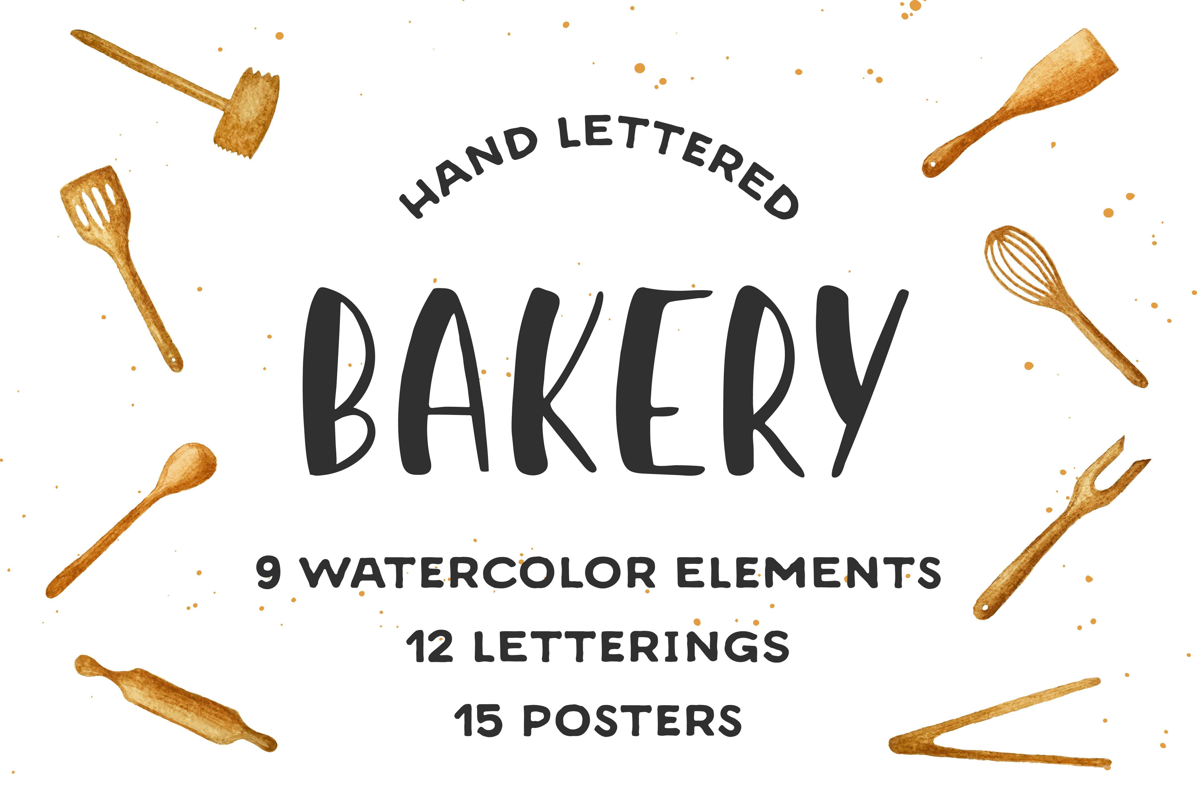 Bakery Quotes And Posters Illustrations Creative Market