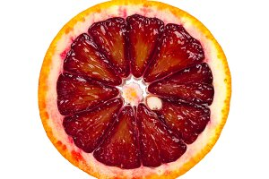 Slice of Blood Orange