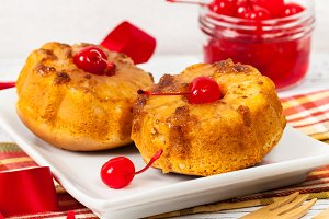 Pineapple Upside Down Muffins