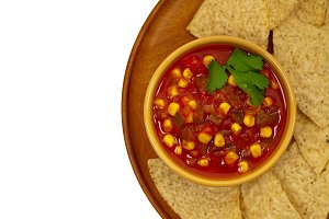 Chunky Salsa with Corn