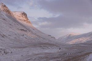 Winter Mountains #09
