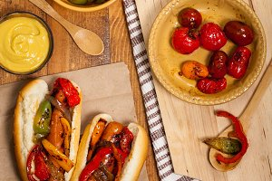 Hot Dogs Fajita Style