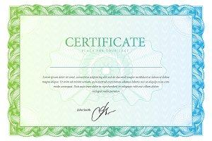 Certificate95