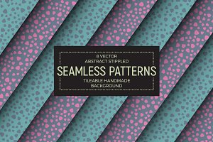 Vector Abstract Seamless Patterns