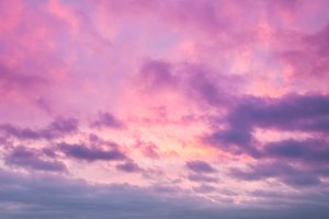 Evening sky background.
