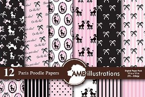 Paris Poodle Papers 805