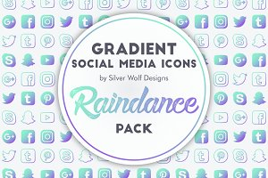 Social Media Icons | Raindance Pack