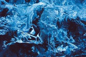 Glacier Ice Background Texture