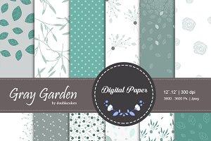 Garden gray | Patterns