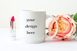 Styled stock photography, Mug mockup