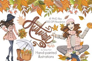 HelloAutumn Hand-painted design Kit